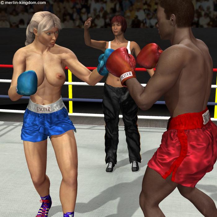 Femdom Mixed Boxing Homemade Porn